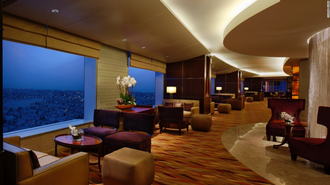 Club Lounge Conrad Dubai