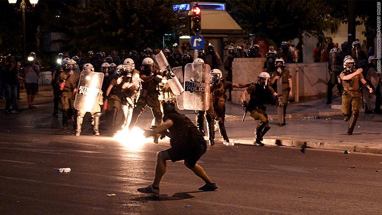 greece protest