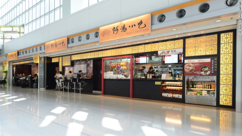 airport restaurants hung's