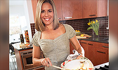 Airport superchef: Cat Cora
