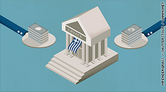money to greece