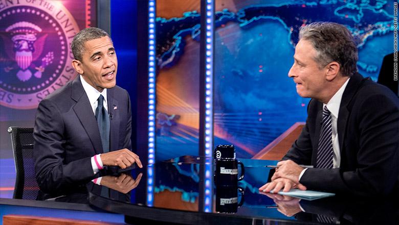 daily show obama