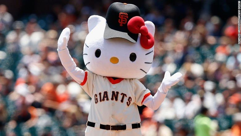 hello kitty baseball