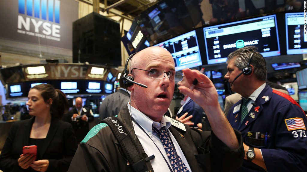 Dow plummets 358 points on global fears
