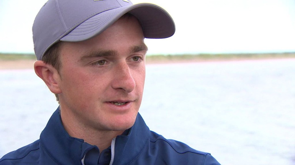 Paul Dunne trying to make history at The Open Championship