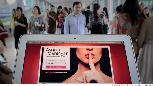Stolen Ashley Madison user data published by hackers