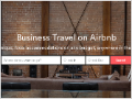 Airbnb: 1,000 companies sign up for business travel