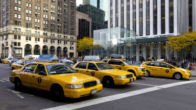 Manhattan could get by with 78% fewer cabs