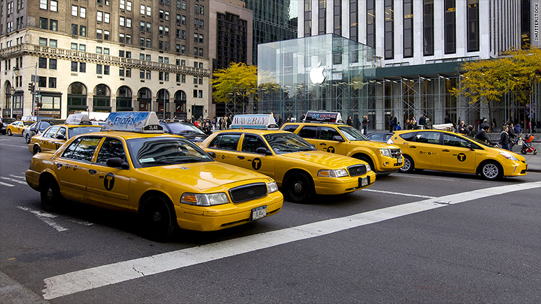 new york city 39 s yellow cab crisis. Black Bedroom Furniture Sets. Home Design Ideas