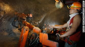 gold copper mining ore