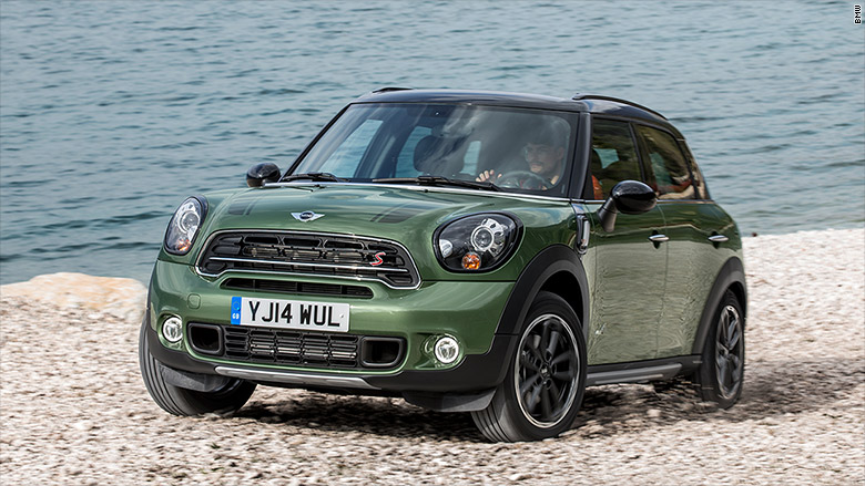 Category Small Suv Winner Mini Countryman Chevrolet Corvette