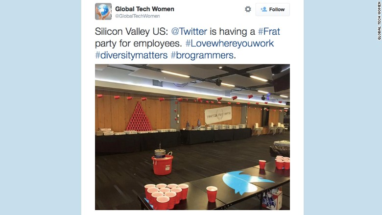 Global Tech Women tweet