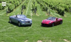 Two Convertibles: Rolls-Royce vs. Ferrari