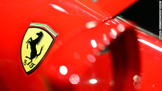 Ferrari revs engine ahead of Wall Street debut