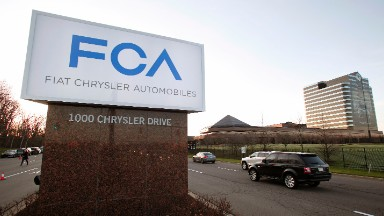 Chrysler hit with record fine