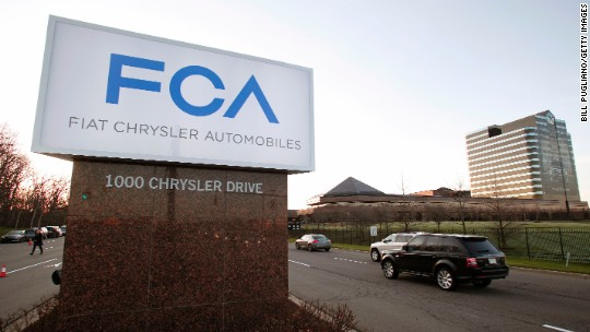 Fiat Chrysler failed to notify safety agency about problems with its cars