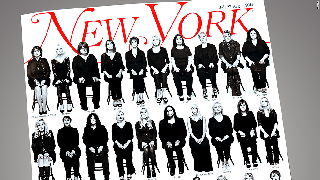Bill Cosby's accusers speak out in New York Magazine