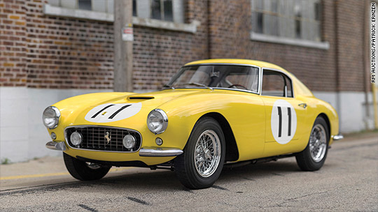 Most valuable car collection ever auctioned