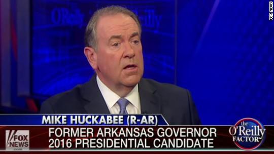 Huckabee blitzes Fox shows before debate rankings