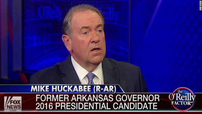 mike huckabee fox news