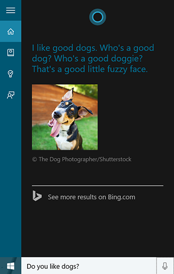 Cortana isn t snarky or mean she also needs to be sensitive and