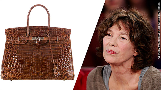 Jane Birkin wants her name off Hermes crocodile bag