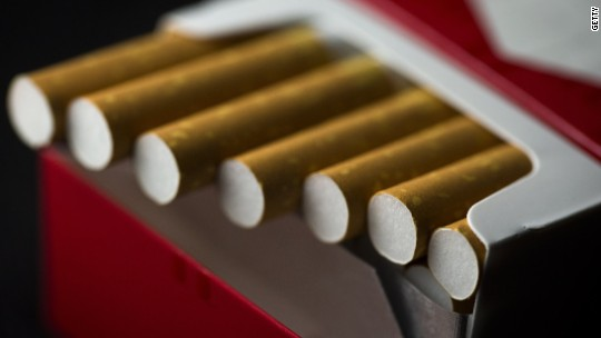 Smoking is not cool. But cigarette stocks are hot.