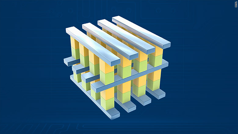 intel memory storage chip