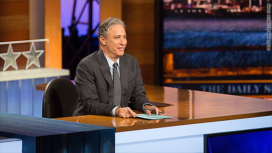 Jon Stewart can't wait for the GOP debate