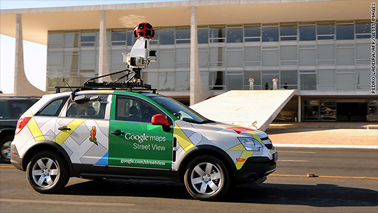 Google Street View cars will soon measure pollution
