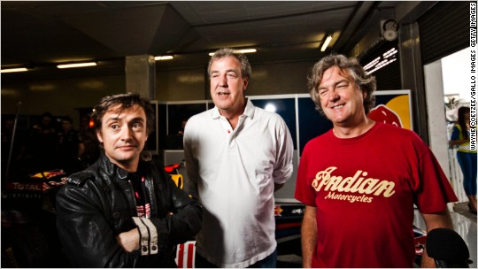Amazon signs Top Gear team for new car show