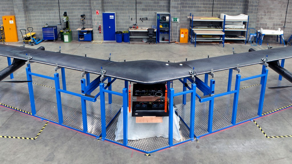 Facebook's internet drone is years away from use