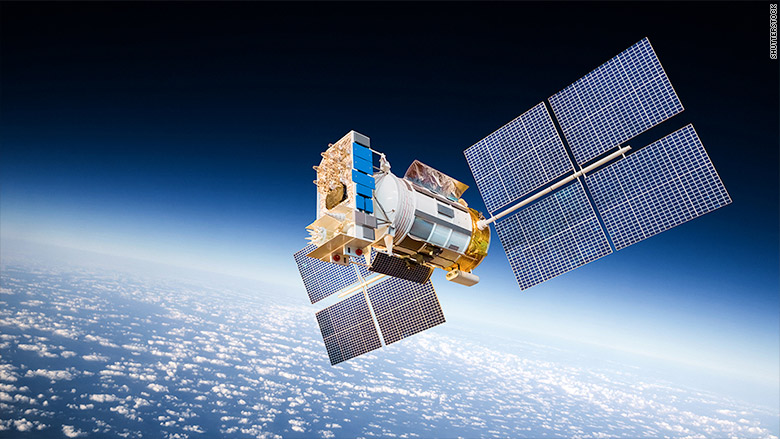 GPS Satellite Networks Are Easy Targets For Hackers Aug - Actual satellite images