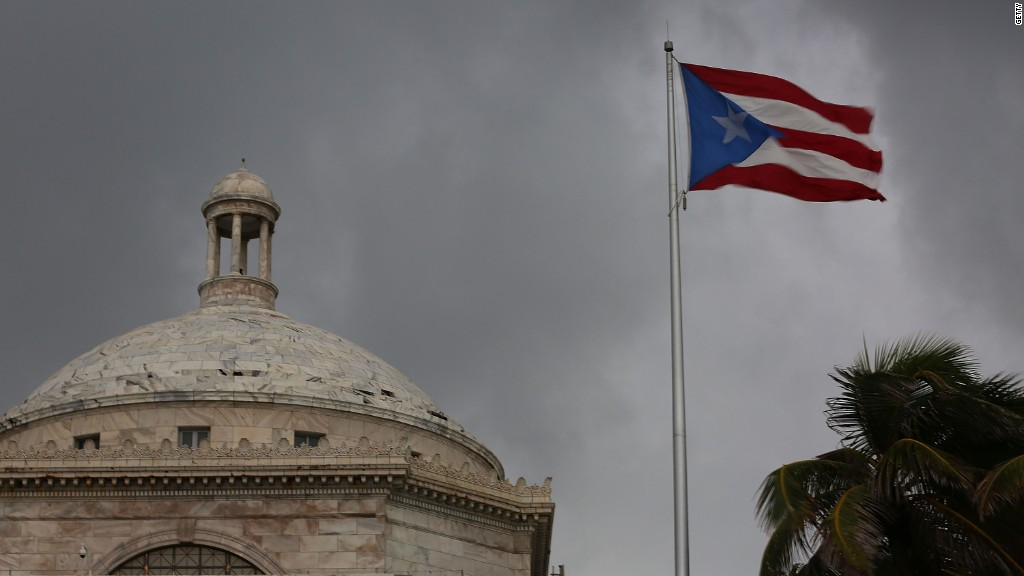 Puerto Rico governor: We are out of cash