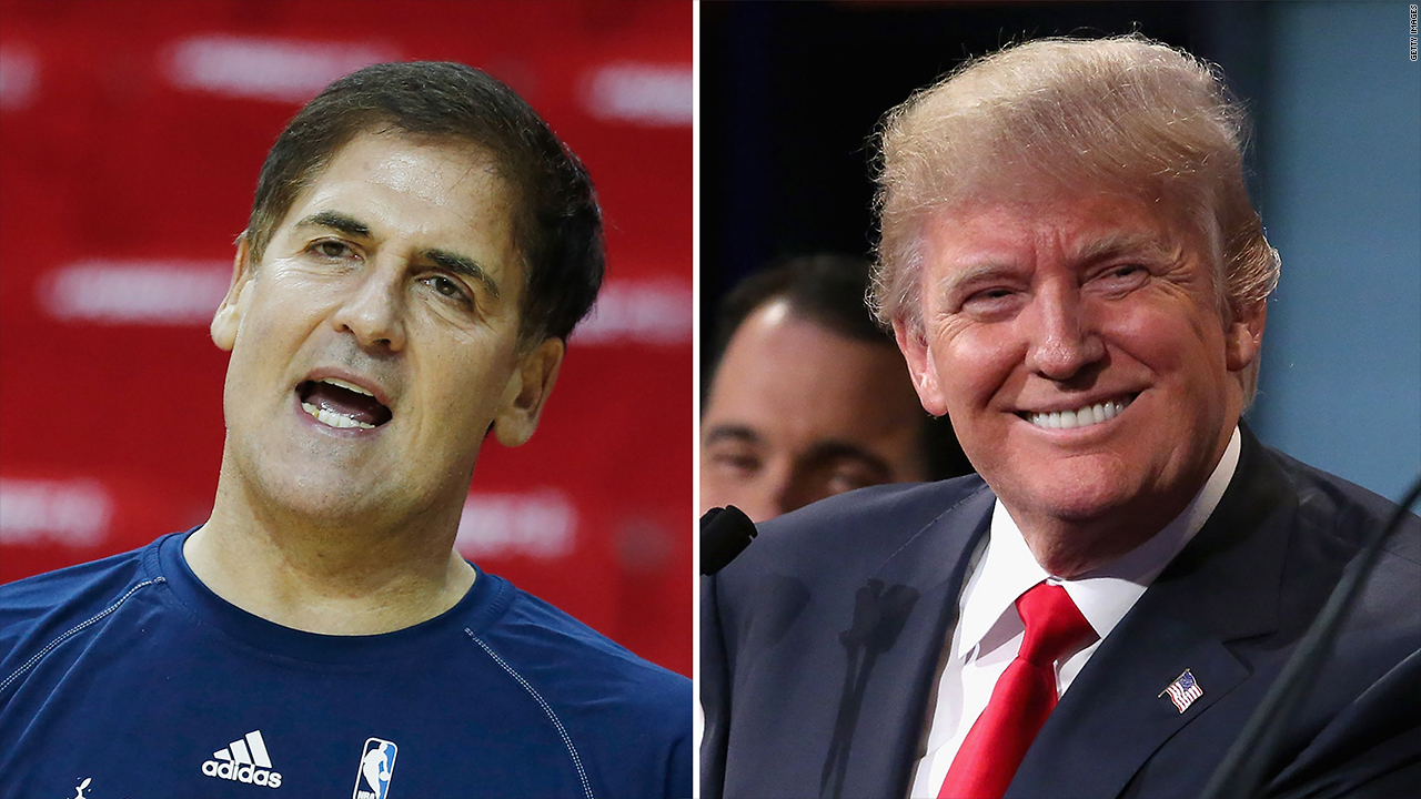 Trump once said Mark Cuban has look of a 'Neanderthal'