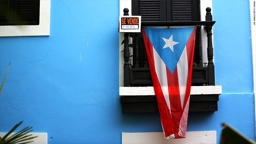 Puerto Rico defaults on its debt