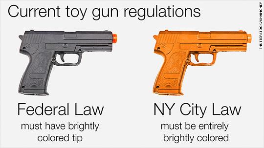 Walmart, Amazon halt sales of realistic toy guns in NY