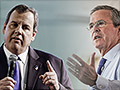 Look out, Trump. Bush and Christie vow to double economic growth