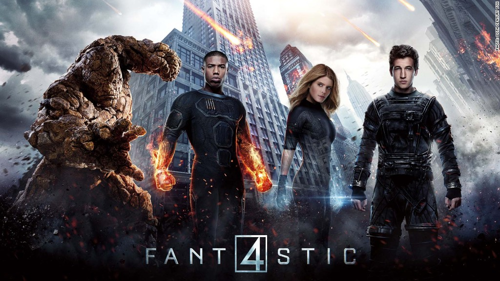 'Fantastic Four' reboot looks to clobber past failures