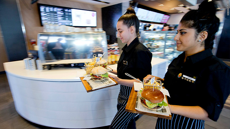 Image Result For Table Service At Mcdonald
