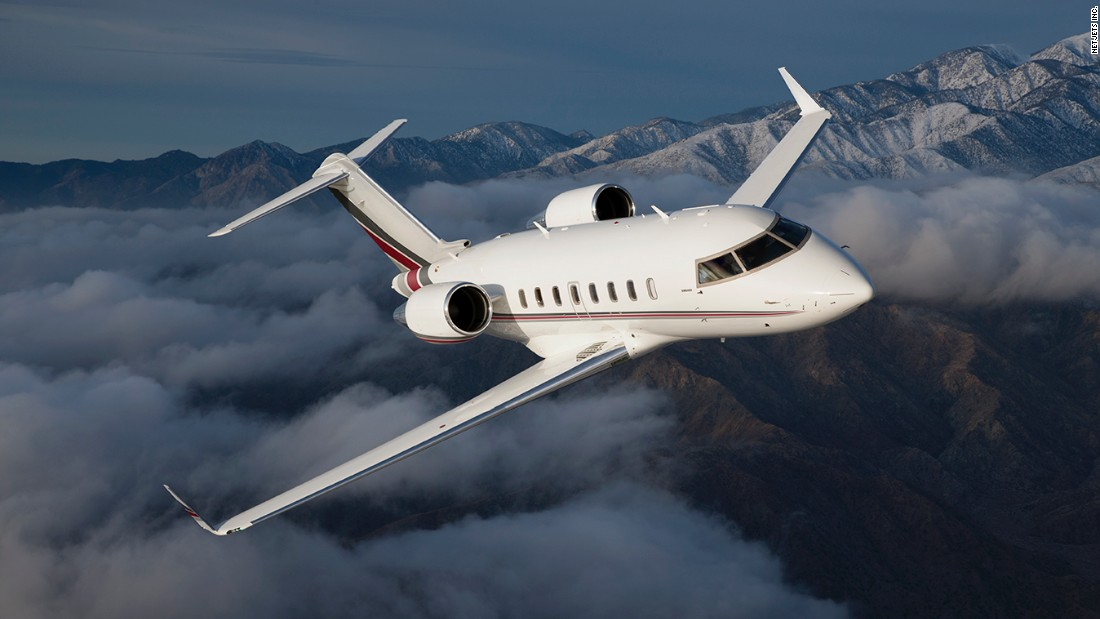 NetJets Bombardier Challenger 650 - Inside the coolest private ...
