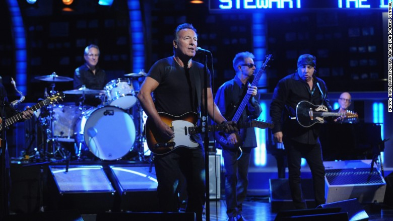 bruce springsteen daily show
