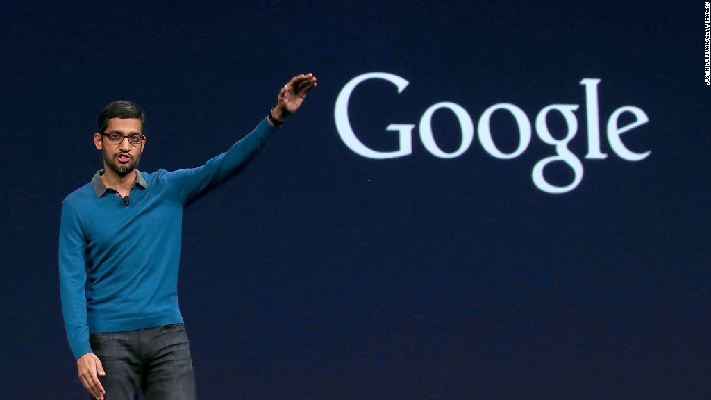 Google CEO Sundar Pichai doubled income at almost  $200 million in 2016