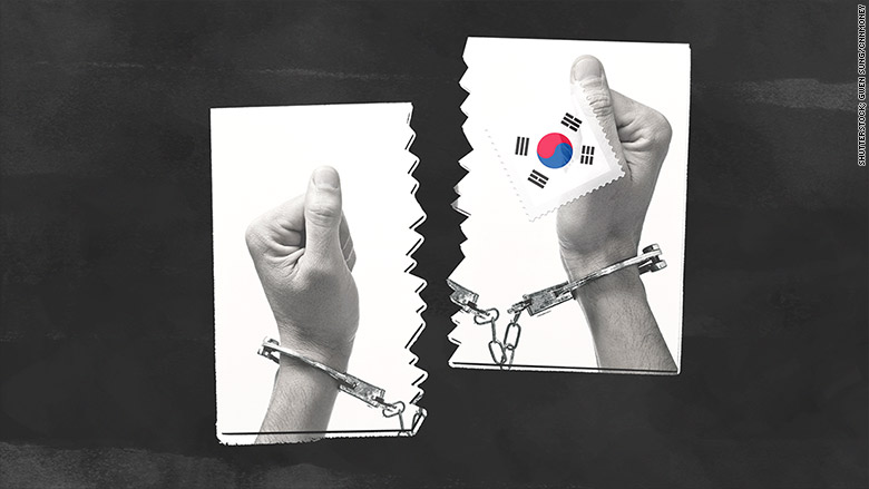 s korea convicts