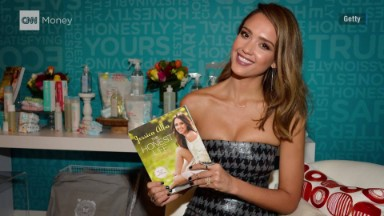 Jessica Alba cashing in on Honest Company