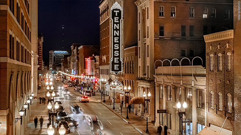 Knoxville tenn 10 best cities for small businesses for Small towns in tennessee near knoxville