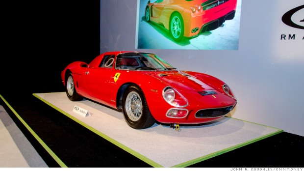 10 most expensive cars sold at Pebble Beach auctions