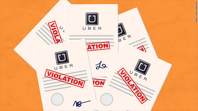 uber violations