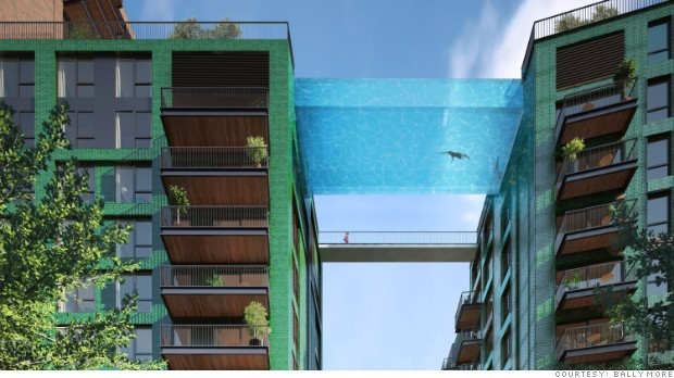 Sky Swimming London To Get Floating Pool Aug 21 2015