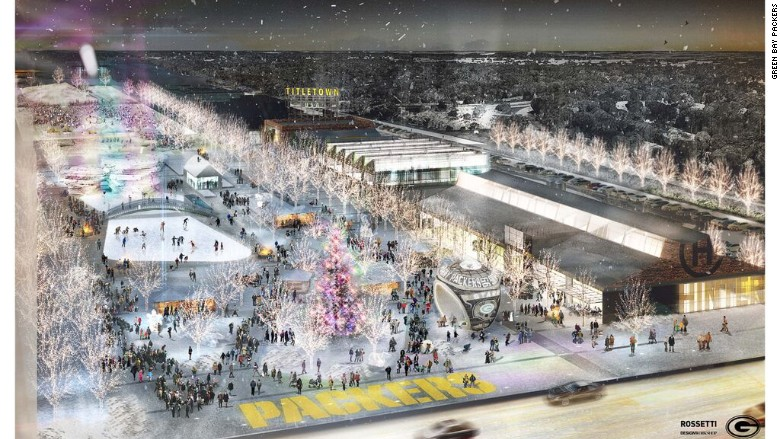 Town Planner Calendar Green Bay Wi : Green bay packers announce million expansion project